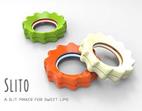 Slito - A slit maker for sweet lime