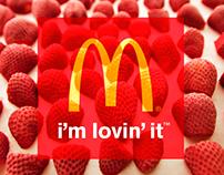 McDonald's Strawberry Custard Pie