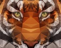 Polygons: Tiger