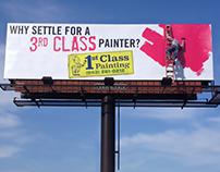 1st Class Painting Billboard Stunt