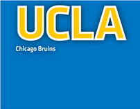 UCLA Chicago Bruins Business Cards