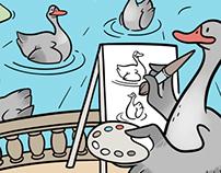 Goose Day Prints