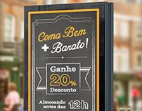 Banner Almoço Bistro Variettá