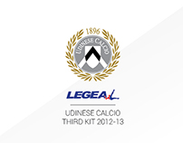 Udinese Calcio Third Kit 2012-13