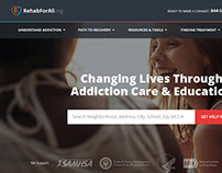 Rehab Resources Website