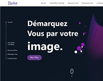 MAQUETTE WEB UX/UI REFLET CONSULTING