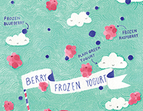 Berry Frozen Yogurt illustration
