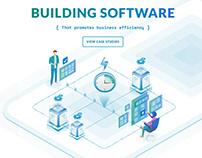 Root { Codex } Software Developer's website redesign.