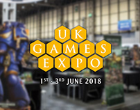 Design Print Banners at UK Games Expo 2018