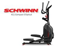 Schwinn 411 Compact Elliptical