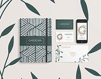 Brand Identity - Gardenia