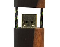 Up-cycled Wooden USB