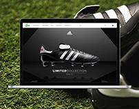 Adidas Copa sl Microsite