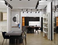 Furniture showroom / Мебельный шоурум