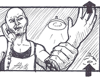 """""""Over the Edge"""" Short Film - Thumbnail Pitchboards"""