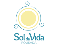 Pousada Sol da Vida - Identidade Visual/Brand Creation