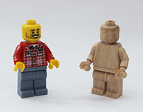 Wooden minifig - Scale 1:1