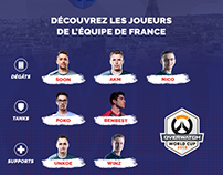 OVERWATCH - Team France | World Cup 2018
