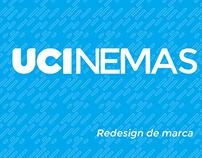 Redesign de marca - UCI Cinemas