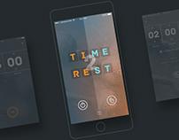 UI Design: Time2Rest App