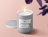 Logo and Brand Design for Candle Company
