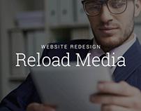 Reload Media Website Redesign