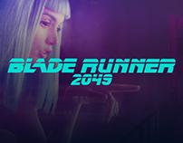 Blade Runner 2049 - Site UI Design