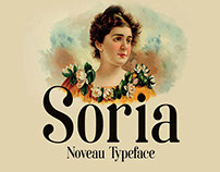 Free Soria Font For Artists