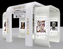 Mazloum booth
