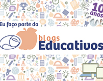 Blogs Educativos - selo comemorativo