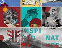 Vintage collage - Insta Grid FILIKS.CO