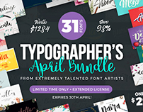 31 Dazzling Fonts + Extended License for Commercial Use