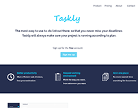 Visual Design for Taskly