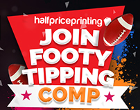 Footy Tipping Promo Campaign for HPP