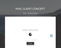 Mail Machine - Concept mail client. Authorization