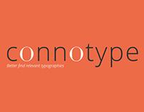 Connotype - Plateforme de recherche typographique