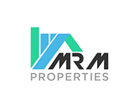 MRM Properties Logo Design