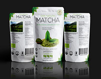 Matcha Packaging Design