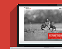 Conservation India Website Concept