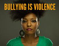 Bullying is Violence Social Media Campaign