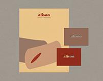 ALISON BOW | VISUAL IDENTITY