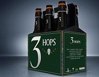 3 HOPS BEER