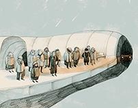 illustrations for book- Tube