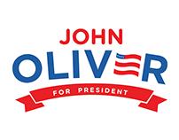 John Oliver for President Logo