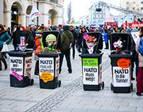 Proteste zur Münchner Sicherheitskonferenz 2017