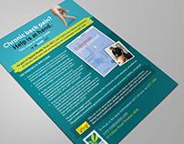Flyer, poster design and socialmedia post design