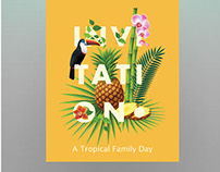 Ooredoo | A Tropical Family Day Event (Proposal)