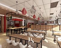 Honeywell Canteen Interior Design