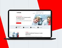 Genthner website redesign