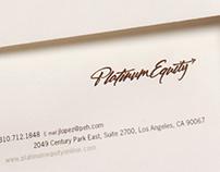 Platinum Equity Logo Branding and Identity System